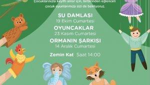 Çocuk tiyatroları Ekim'de Akbatı'da devam ediyor