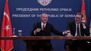 Cumhurbaşkanı Erdoğan'dan Sırbistan'da Önemli Açıklamalar