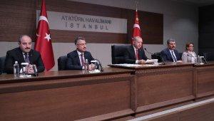 """Cumhurbaşkanı Erdoğan: """"Münbiç konusunda kararımızı verdiğimiz gibi uygulama aşamasındayız"""""""