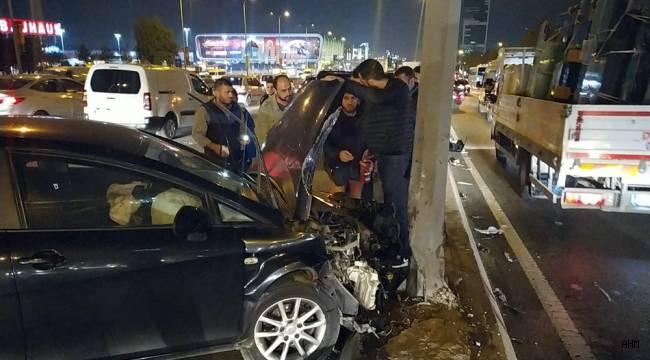 E-5 Avcılar Mevkisindeki Kaza, Trafiği Felç Etti