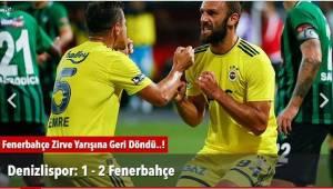 Fenerbahçe Zirve Yarışına Geri Döndü..!