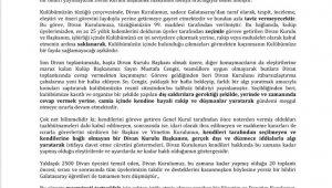 Galatasaray Divan Kurulu: