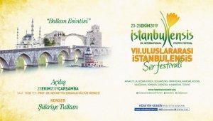 'İstanbulensis Şiir Festivali' vatan şiirleriyle başlayacak