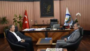 Kaymakam Kemal İnan'dan, Başkan Hançerli'ye İade-i Ziyaret