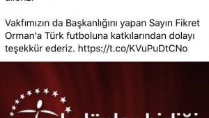 Kulüpler Birliği'nden Ahmet Nur Çebi'ye erken tebrik