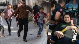 YPG Sivilleri Hedef Aldı! Biri bebek 2 Şehit