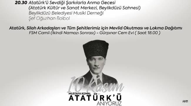 """Beylikdüzü Belediyesi'nden 10 Kasım'da """"Atatürk Ormanı"""""""