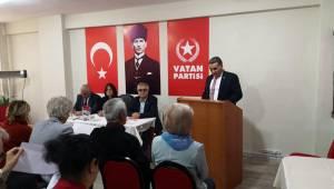 Yavuz Demirel, Vatan Partisi Avcılar İlçe Başkanı Seçildi