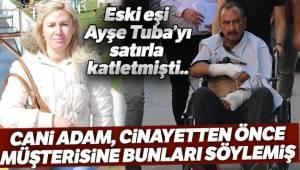 Ayşe Tuba Arslan'ın katil zanlısı 'tuzağa düşürüp kafasını keseceğim'