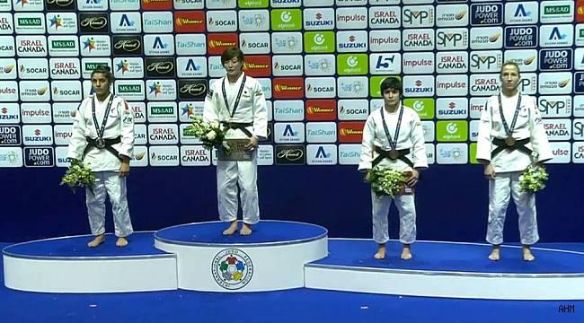 Milli judocuların iki madalya sevinci