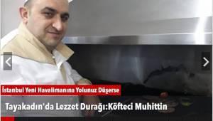 Tayakadın'da Lezzet Durağı:Köfteci Muhittin