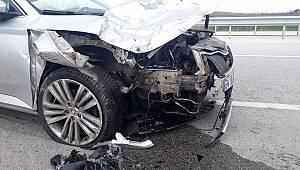 Edirne'de kaza: 1 ölü, 2 yaralı