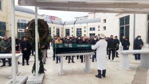 Avcılar Merkez Ulu Camii'de cenaze namazında korona virüs tedbiri