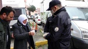 Beyoğlu polisinden 83 yaşındaki kadına yardım eli