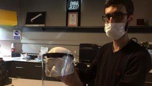 """COVİD-19 Pandemisi ile mücadelede kişisel koruyucu ekipmanı """"Yüz Siperi"""" seri üretimine başlandı"""