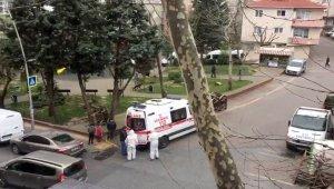 Sağlık ekipleri şüpheli vak'aya müdahale etti! Çocuklar izledi!