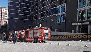 Esenyurt'ta bir binada patlama meydana geldi