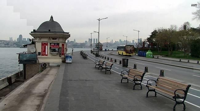 İstanbul sahillerinde koronavirüs etkisi