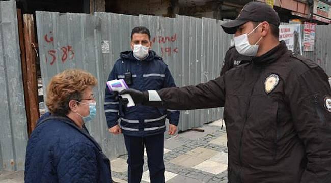 Yüksek riskli Avcılar'da koronavirüs denetimi