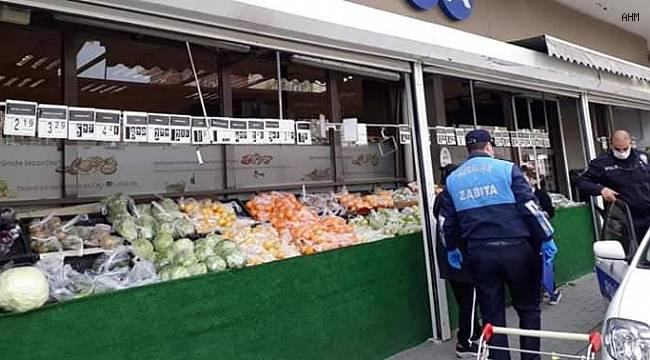 Zabıta ekipleri bakkal ve marketlerde 'fırsatçı' avına çıktı!