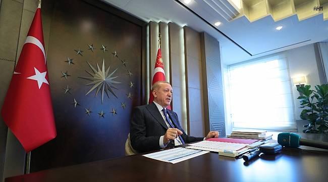 """Cumhurbaşkanı Erdoğan: """"Bunların hesabına göre salgın ülkemizi kavuracak, hükümet yıkılacak"""""""