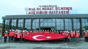 Yeşilköy'deki pandemi hastanesinin içi görüntülendi