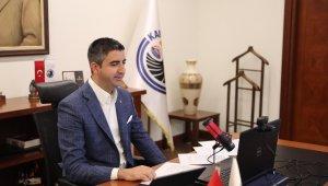 Başkan Yüksel canlı yayında usta gazetecilerin sorularını yanıtladı