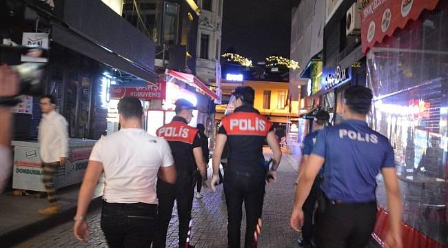 Beşiktaş'taki mekanlara sıkı denetim uygulaması gerçekleştirildi