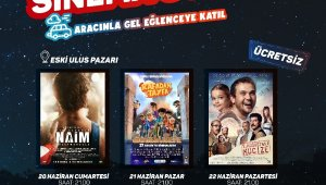 Çekmeköy'de arabalı sinemalı günler başlıyor