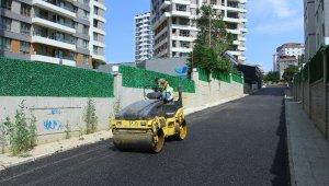 Hürriyet ve Atalar Mahallesi'nin yolları yenileniyor
