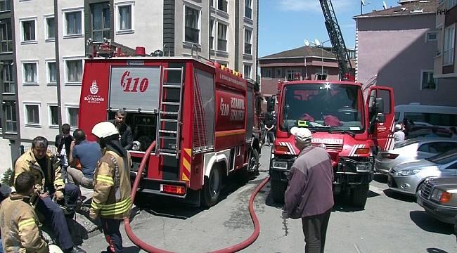 İstanbul'da korkutan yangın: Çok sayıda kişi tahliye edildi