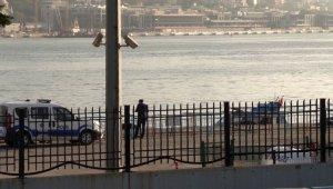 Sarayburnu Sahili'nde denizde ceset bulundu