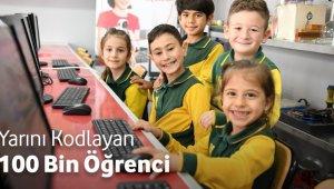 Yarını Kodlayanlar projesi 100 binin üzerinde çocuğa ulaştı