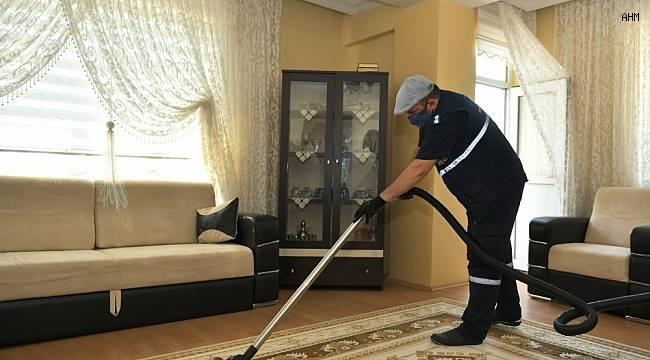 Engelli ve 65 yaş ve üzeri vatandaşlara ücretsiz bayram temizliği