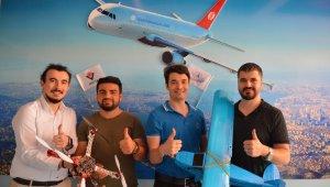 Havacılık öğrencilerinden 'havalı' başarı
