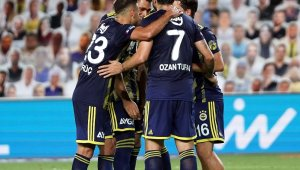 Süper Lig: Fenerbahçe: 2 - Göztepe: 1