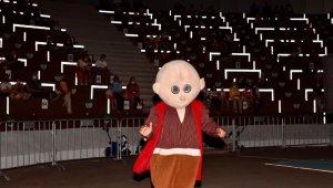 Tuzla'da amfi tiyatroda çocuk neşesi