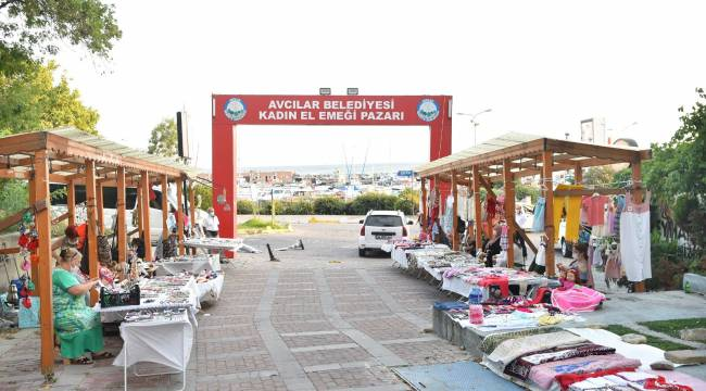 Avcılar Belediyesi Kadın El Emeği Pazarı Açıldı