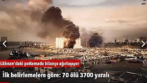 İlk belirlemelere göre: 70 ölü 3700 yaralı