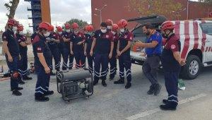 Beyoğlu'nda afetlere hazırlık çalışmaları yapıldı