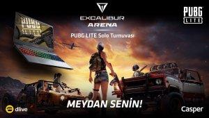 Excalibur Arena PUBG Lite Turnuvası başlıyor