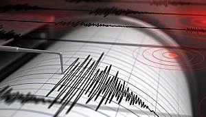 Deprem haritası yayınlandı!