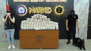 İstanbul polisi Lübnan'dan Türkiye'ye sokulan 80 kilo esrar ele geçirdi