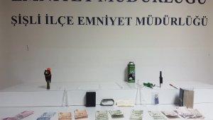İstanbul'da araç çakmaklığından uyuşturucu fışkırdı