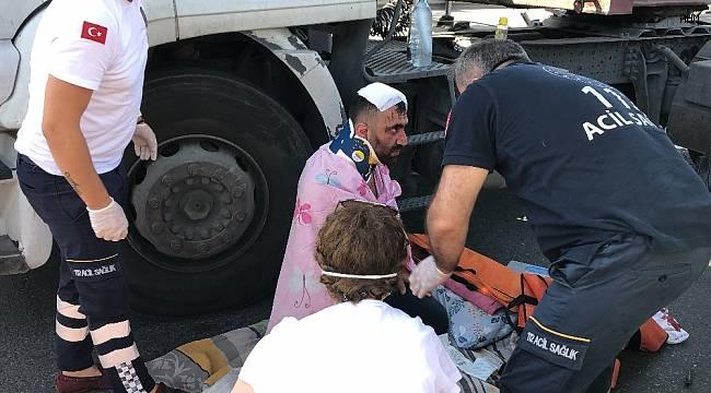 Bölgeye ambulans ve polis ekipleri sevk edildi