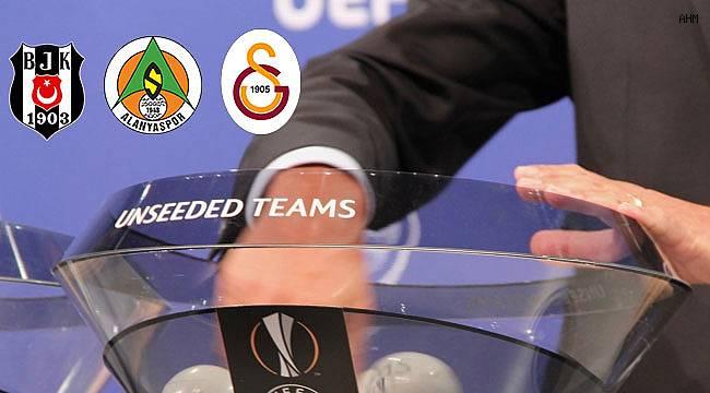 Temsilcilerimizin Avrupa Ligi rakipleri belli oldu