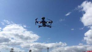 Üsküdar'da drone destekli koronavirüs denetimi