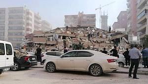 Acı haberler geliyor! İzmir'de çok şiddetli deprem!