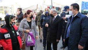 Başkan Aydıner'den pazarda HES kodu denetimi