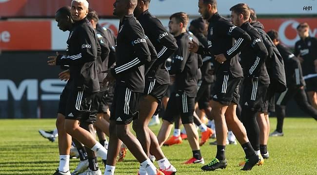 Beşiktaş'ta derbi hazırlıkları devam etti
